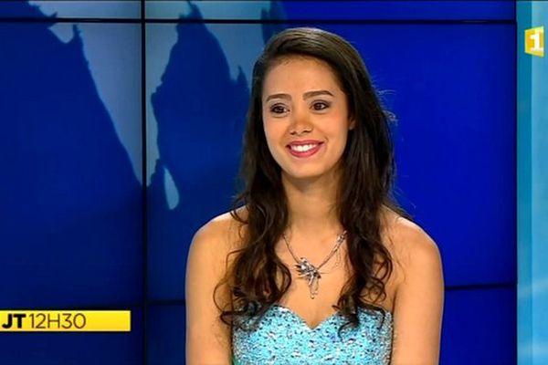 Miss Réunion 2015 : Portrait d'Aurélie Robert, candidate N°5