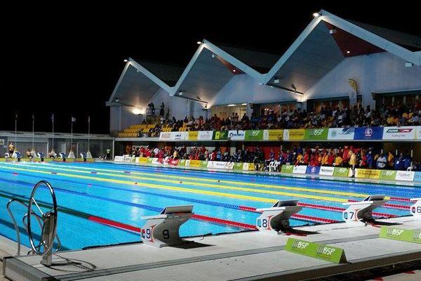 Le bassin de natation à Port Moresby