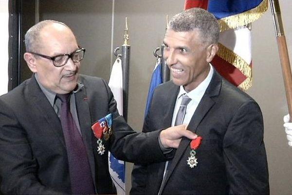 Remise de la légion d'honneur à Jean-Louis Prianon