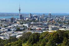 La city d'Auckland.