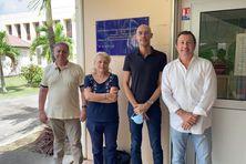Membres enseignants et dirigeants de l'ICÉFI (Institut Caribéen d'Études Francophones et Interculturelles).