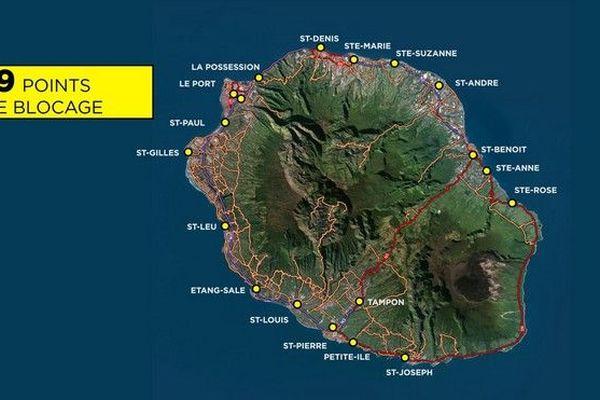 j3 mobilisation des gilets jaunes carte prévisions pour le 191118