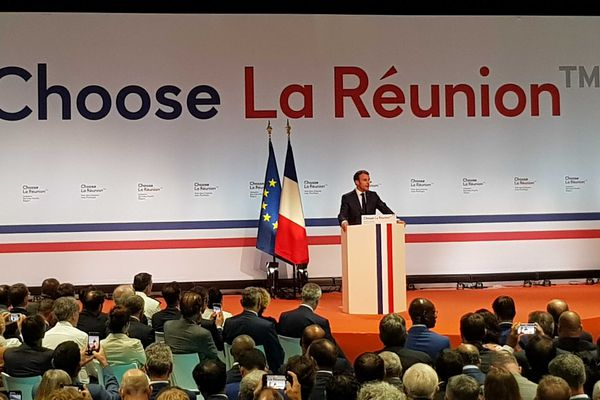Le discours d'Emmanuel Macron à la Nordev, à Saint-Denis.