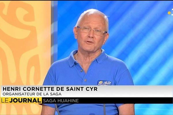 L'invité du journal : Henri Cornette de St Cyr