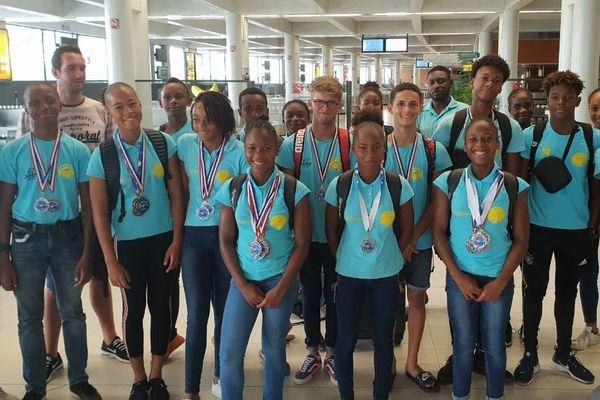 Les nageurs du François Natation Club