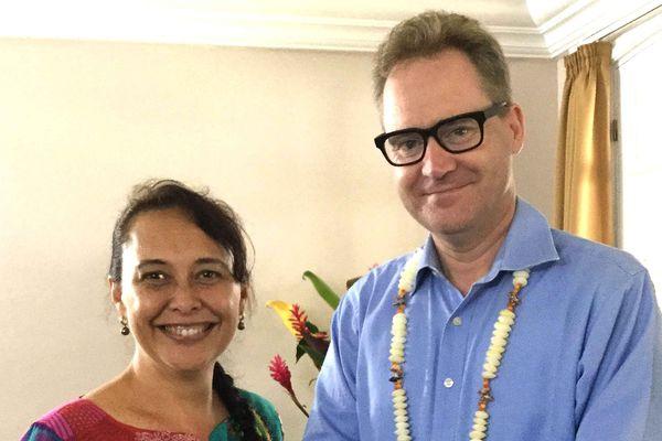 Paul Wilson, consul australien à Tahiti