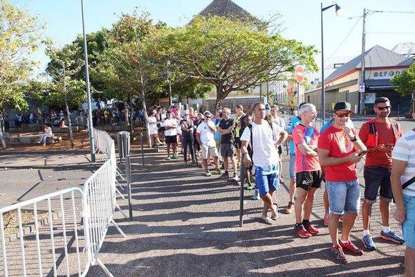 Grand Raid 2019 remise des dossards Saint-Pierre 161019