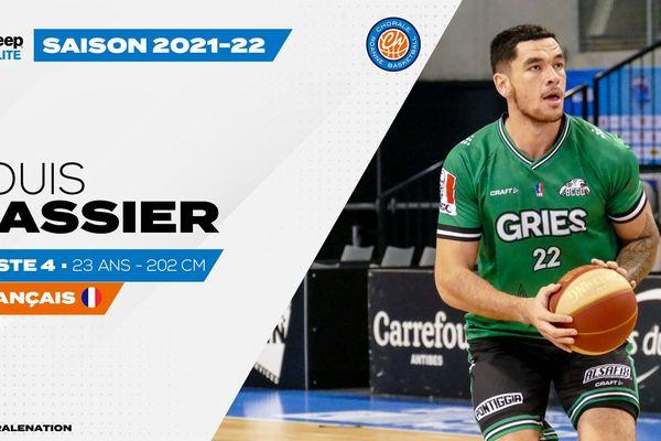 Louis Cassier quitte Gries Oberhoffen (ProB) pour Roanne (Jeep Elite).