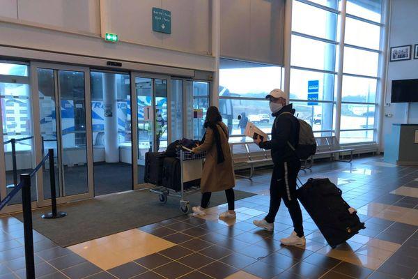 Arrivée étudiants de Montréal