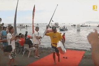 Le paddle séduit de plus en plus de sportifs polynésiens