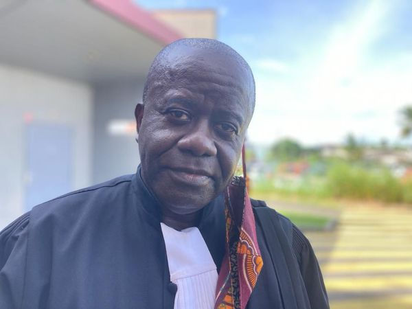 Emile Tshefu , avocat des 2 victimes