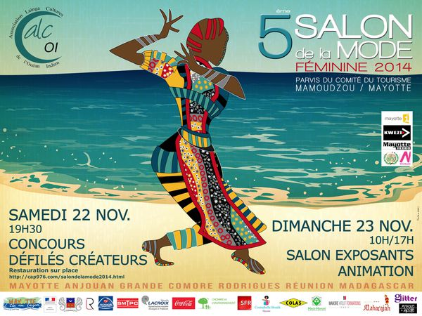 5ème Salon de la mode à Mayotte, vers l'imaginaire du patrimoine maritime.