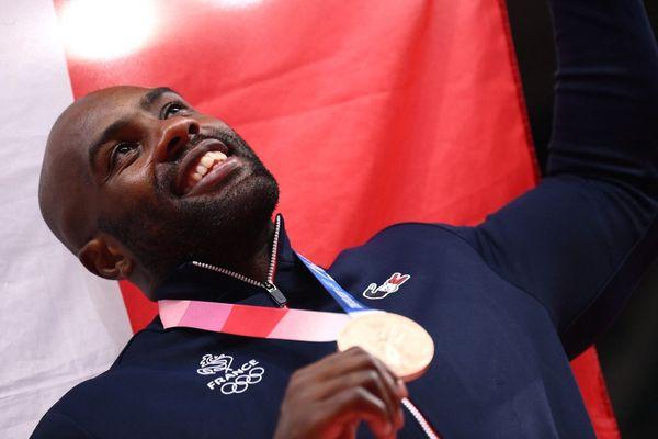 médaille bronze teddy riner