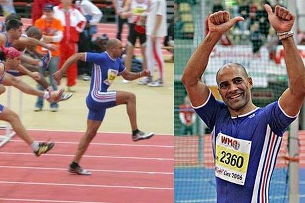 Vincent Clarico athlète