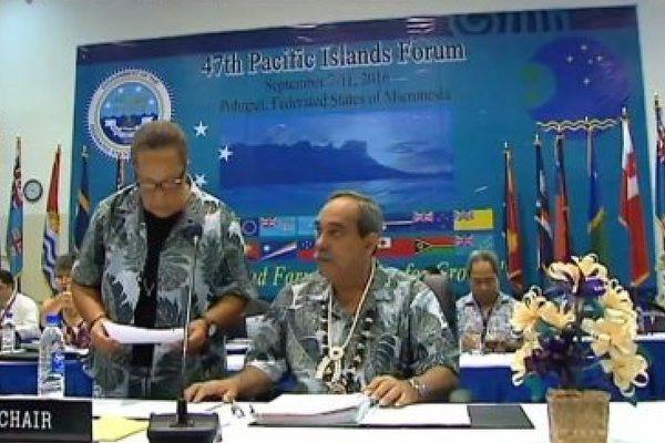 Forum des Iles du Pacifique