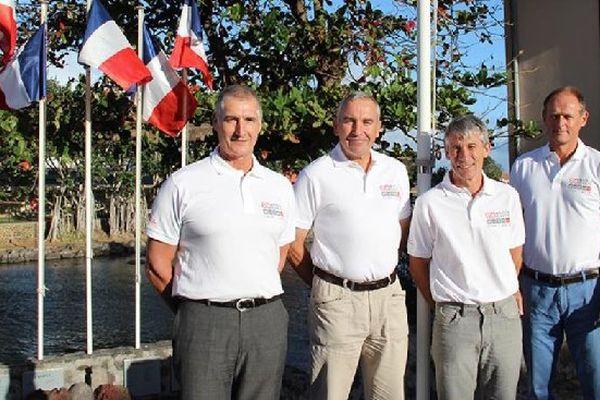 Les nouveaux chefs de district des TAAF