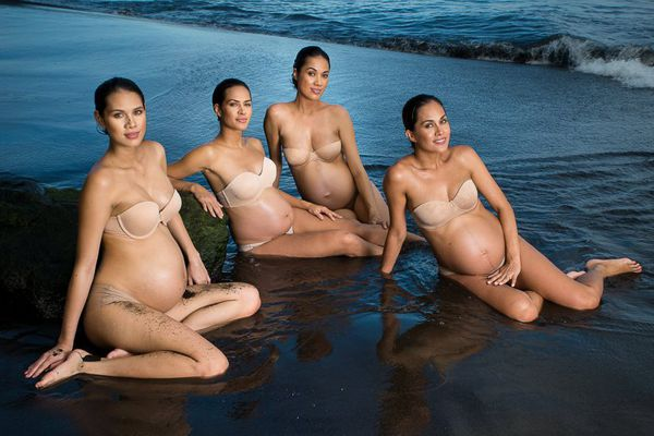 Miss Tahiti enceintes