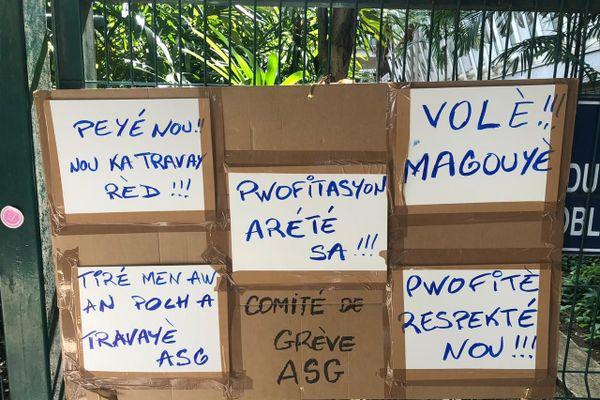 Grève des agents de sûreté de l'aéroport Guadeloupe Pôle Caraïbes