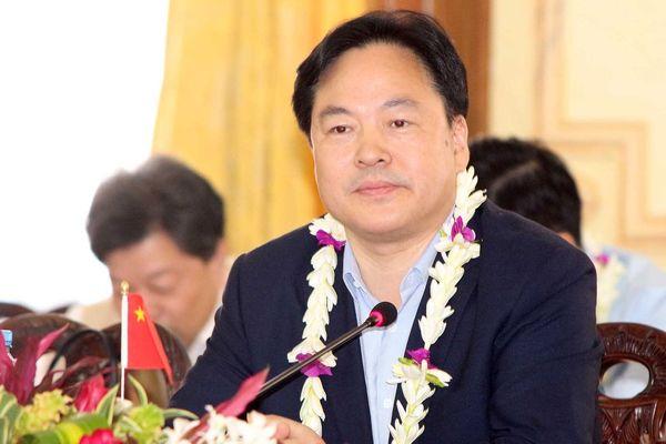 La délégation chinoise a été reçue à la Présidence