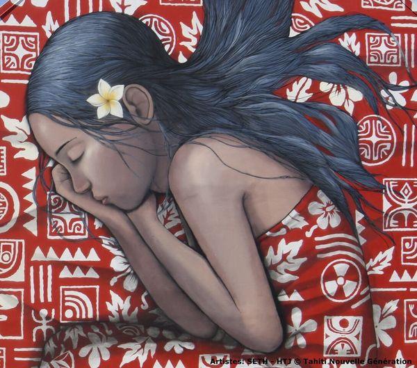 Le festival Ono'u 2015 s'expose à la Banque Socredo Tahiti
