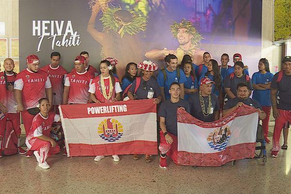 Départ délégation Samoa 2019