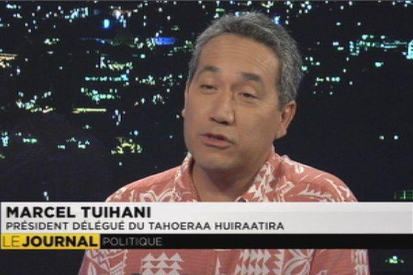 Marcel Tuihani, invité du JT