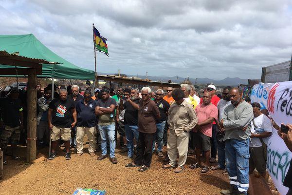 Collectif Usine du Sud avec Ican et FLNKS, belvédère de Goro, 26 janvier 2021