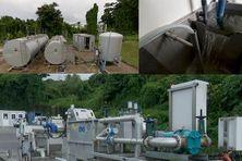 station de traitement des boues des fosses septiques en Martinique
