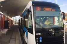 Bus à Haut Niveau de Service vers Carrère au Lamentin. (illustration).