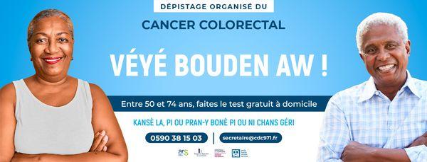 Affiche dépistage cancer colorectal