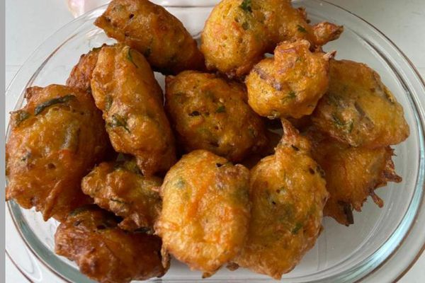 Accras / morue et carottes / vendredi saint