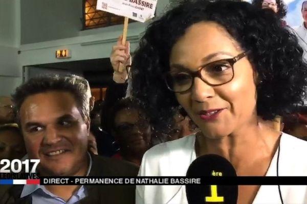 Nathalie Bassire élue dans la 3ème circonscription
