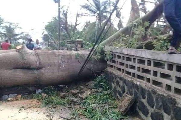 Comores cyclone Kenneth