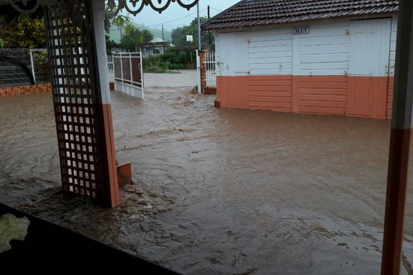 Restaurant inondé