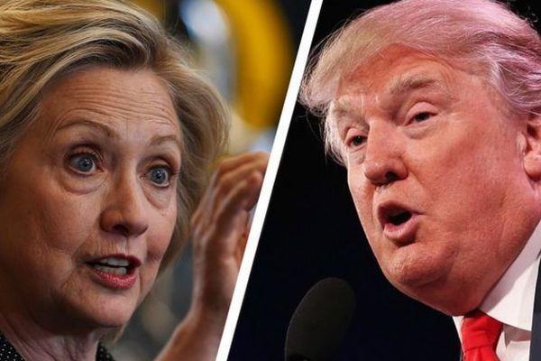 Elections américaines: Clinton et Trump au coude à coude