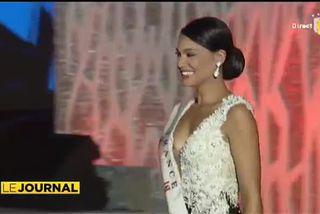 Hinarere Taputu 6e à Miss monde