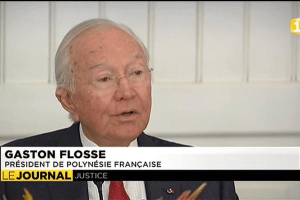 Procédures judiciaires : Gaston Flosse contre attaque
