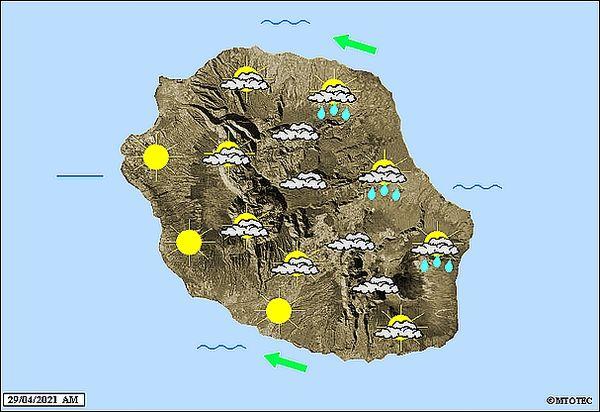 Carte météo 29 avril 2021