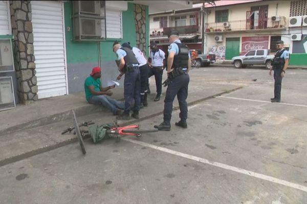 Policiers en Guyane
