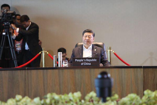 Président chinois Xi Jinping, Apec, 2018, Port Moresby