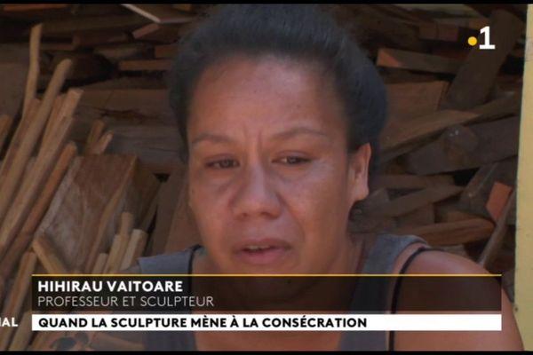Le British museum invite en résidence la sculptrice Hihirau Vaitoare