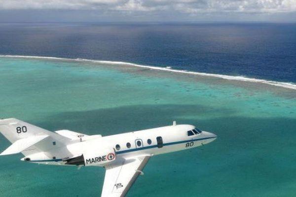 Le Gardian en mission de surveillance à Wallis et Futuna