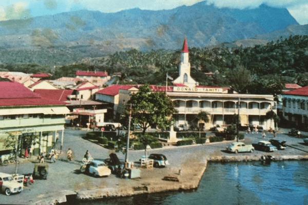Carte postale Tahiti