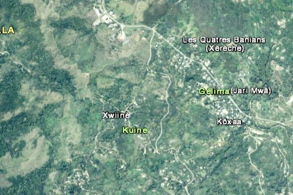 Carte Canala Gelima