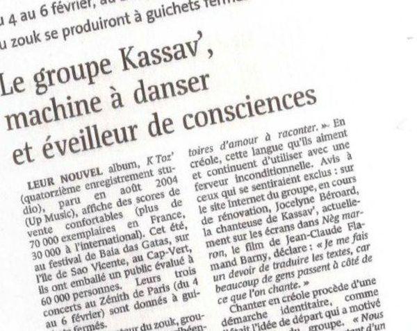 kassav le monde
