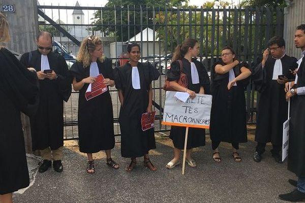 Une opération « justice morte » à La Réunion.