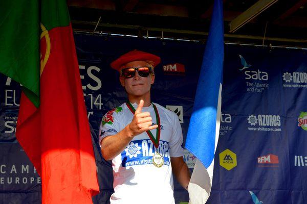 Le Réunionnais Milo Delage en bronze aux championnats d'Europe de surf