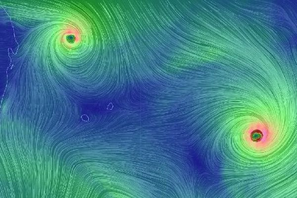 Cyclones Gelena et Funani