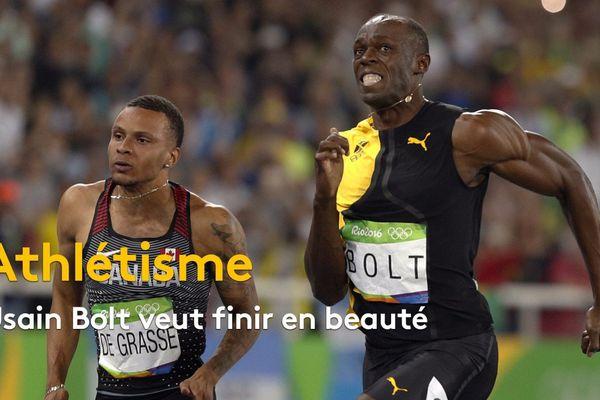 Usain Bolt veut finir en beauté