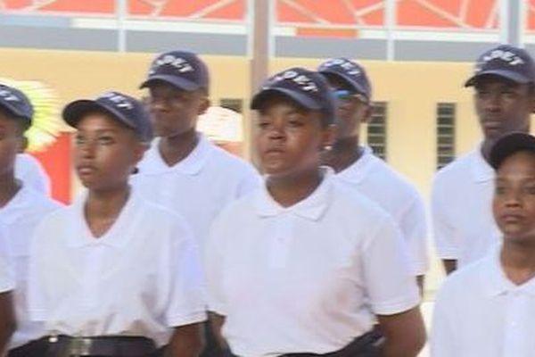 Les cadets de la gendarmerie